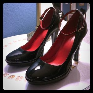 Patent Leather Mary Jane Heels